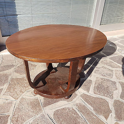 Italian Art Deco Low Little Table From 1930-40 For Restoration