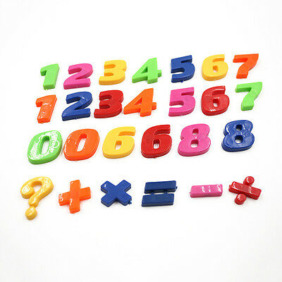 Kids Learning Teaching MAGNETIC Toy Numbers Fridge Magnets 26 Maths Children