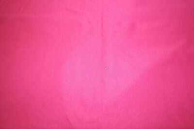 PUL Pink Fuschia polyester stretch knit fabric for nappies & wetbags 120x155cm