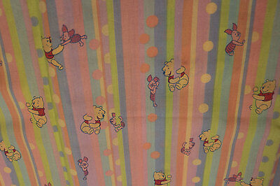 PUL Winnie the Pooh 100% Cotton fabric for nappies & wetbags 94x110cm