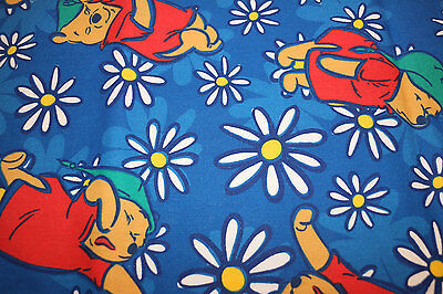 PUL Winnie the Pooh 100% cotton fabric for nappies & wetbags 105x143cm