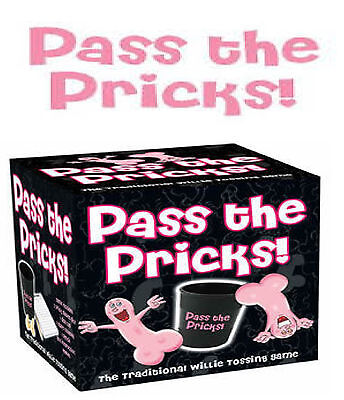 New Pass The Pricks Adult Game Great Novelty Party Gift Hen Stag Office Party