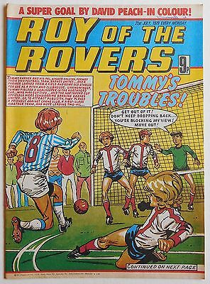 ROY OF THE ROVERS Comic - 21st July 1979
