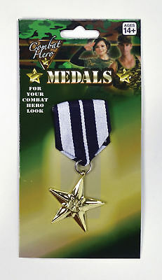 Military Medals (1 single) - Halloween - Fancy Dress Accessories