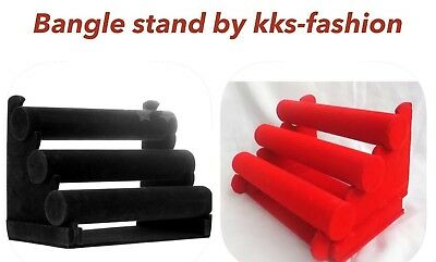 4 Tire Antique Plastic Bangle, Bracelet Holder/jewellery Display Storage Stand