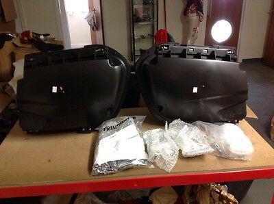 Triumph Tiger 1050 Sport Panniers With Fixing Kit NEW