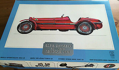 Original Pocher Alfa Romeo 8C 2300 Monza 1931 Bausatz K71 model kit scale 1:8
