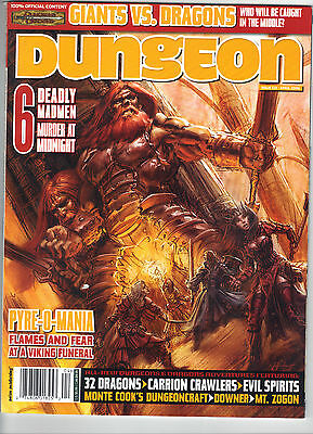 DUNGEON MAGAZINE 133 New AoW D&D Eberron 3.0 3.5 Price Inc Delivery in UK