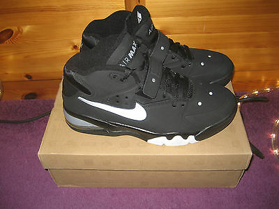 Nike Air Force Max 2013 Black-Cool Grey-White 10.5 44,5 ***NEW*** 555105 002