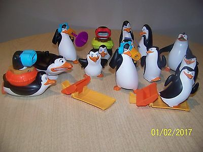 Set Of 14 Toy Penguins Happy Feet
