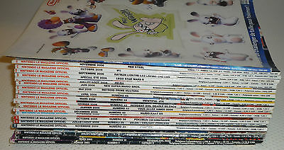 Lot de 21 magazines officiel Nintendo !!! + Special été 2006 !!!