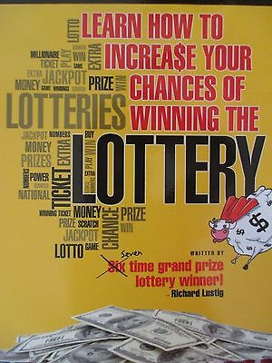 Learn How To Increase Your Chances of Winning The Lottery Richard Lustig New Pap