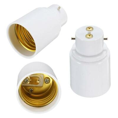 2 Pack LIGHT BULB SOCKET ADAPTOR CONVERTER LAMP HOLDER BASE ADAPTER TOP UK STOCK