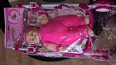 Ideal Xmas Gift for Girls Doll and Pram Set