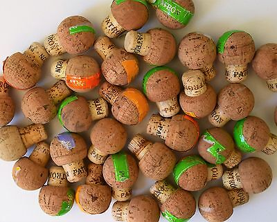 10 Patron Tequila Corks- Great for Crafts- PATRON Corks
