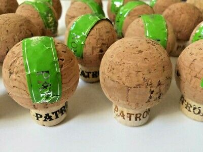 50 (Patron Tequila 750 ML Corks), Used / Up cycled / Great Crafting Condition.