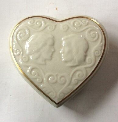 LENOX ROMEO Juliet Heart Shaped Jewelry box 1000 PicClick