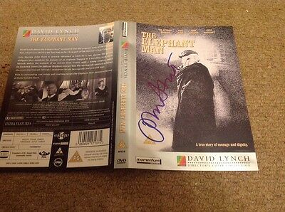 JOHN HURT  -  ELEPHANT MAN  - SIGNED DVD And BOOK  - LIMITED EDITION    -  UACC