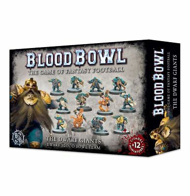 Blood Bowl - The Dwarf Giants Team Games Workshop Zwerge Fantasy Football Dwarfs