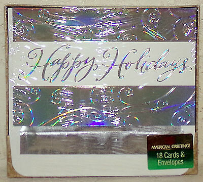 American greetings christmas cards 18 cards foil lined envelopes american greetings christmas cards 18 cards foil lined envelopes happy holidays m4hsunfo