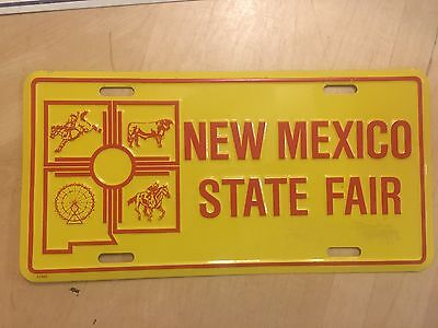 New Mexico State Fair Booster Front Nm Novelty  License Plate Albuquerque
