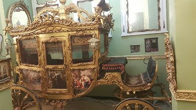 Royal Gold Carriage Coach 1897