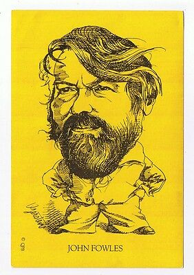John Fowles - Drawings By Gersten From The Qpb Postcard Collection