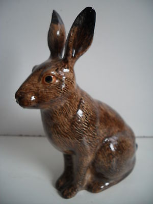 Quail Pottery Large Hare Money Box  Ideal Gift Boxed.