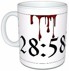 Slayer Reign In Blood 28:58 Coffee/Tea Mug