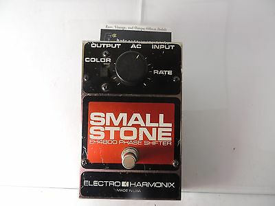 VINTAGE v3 ELECTRO HARMONIX SMALL STONE PHASE SHIFTER PHASER  PEDAL EH-4800