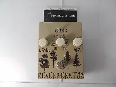 Dr. Scientist Reverberator Reverb Effects Pedal Early Issue Awesome Tone!