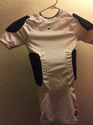 Youth Boys Size Large Fitted Compression Padded Sports Base layer - Nike