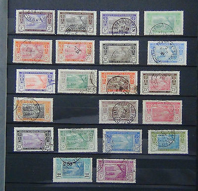 Ivory Coast 1913 values to 3F Fine Used