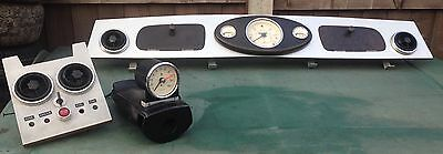 Classic Mini Dashboard With Magnolia Smith Clocks Rev Counter/tacho And Cowling