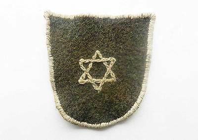 Original Jewish WW2 Shield with STAR of DAVID for Police from Litzmannstadt 1941