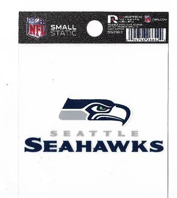 Seattle Seahawks Logo Static Cling Auto Decal Car Sticker Small SS