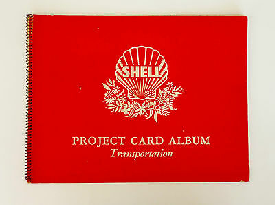 Shell Project Cards TRANSPORTATION complete set of 60 cards VGC in album c 1963