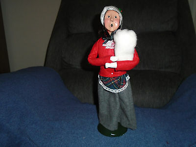 Byers Choice 1991 The Carolers Woman Holding Baby