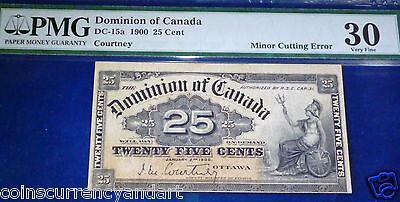 Error, Cutting Error .dominion  Of Canada $ 0.25 1870 - Shinplaster