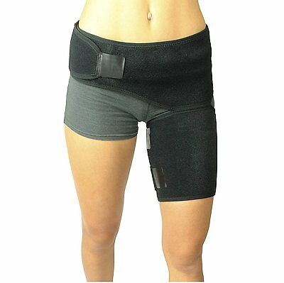 Men/Women Groin Strain Support for Hip & Compression Recovery Thigh Wrap/Brace
