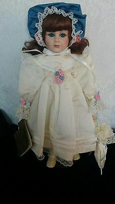 "Charlotte Porcelain Doll Seymour Mann doll is limited edition 17"" doll"