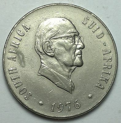 1976 South Africa 50 cents coin