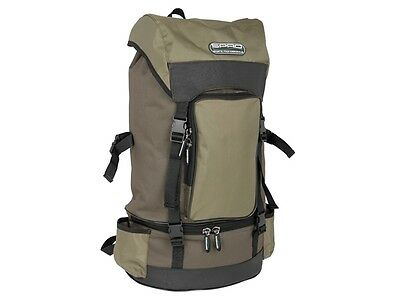 Spro Freestyle Rucksack Backpack inkl 2 Tackleboxen Angeln Camping Outdoor