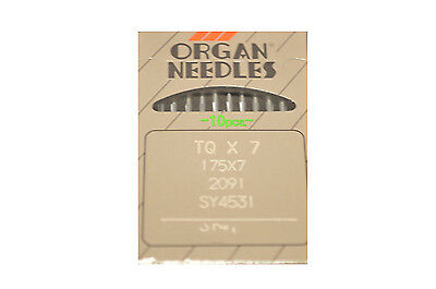 Organ Needles  175x7 (Box of 100 Needles ) for commercial sewing machines
