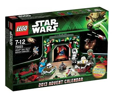 Lego Star Wars ADVENT CALENDAR 2013 Edition with exclusive Jango Fett 75023 NEW!