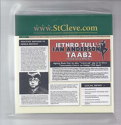 JETHRO TULL empty official Thick As A Brick TAAB 2 PROMO box f. JAPAN mini lp cd