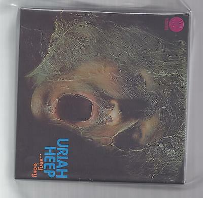 URIAH HEEP empty DU Very 'eavy Very 'umble slipcase PROMO box f JAPAN mini lp cd