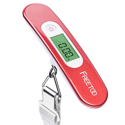 FREETOO Luggage Scale Portable Digital Travel Suitcase Scales Weights with Tare