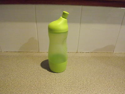Tupperware Sports drink bottle new sheer green 415ml