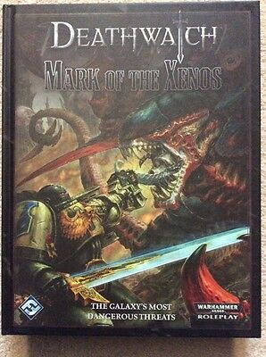 Mark Of The XENOS NEW RPG ROGUE TRADER CHAOS DEATHWATCH warhammer 40k roleplay